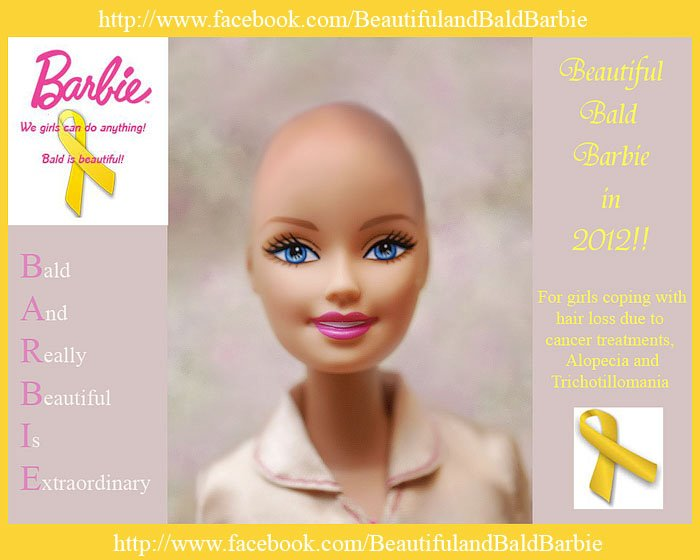The Beautiful & Bald Barbie