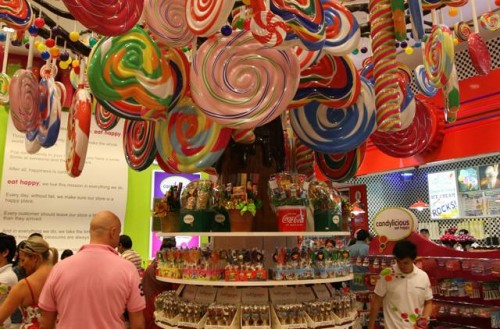 candy store in dubai