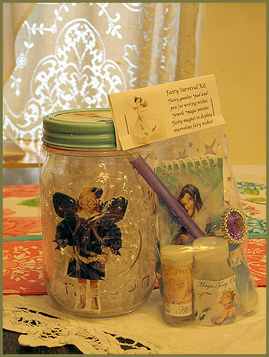 how to make a captured fairy jar
