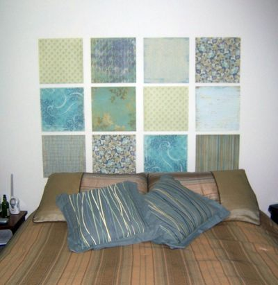 8 headboard ideas you can make in a day easy headboard ideas for Cheap easy to make headboards