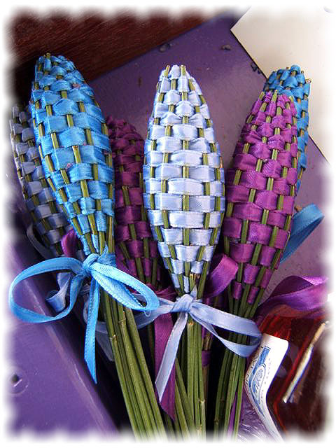 How to make pretty lavender wands