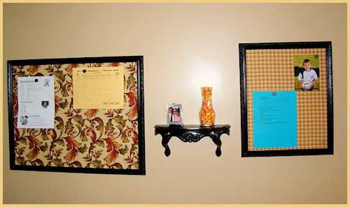 Magnetic bulletin board tutorial