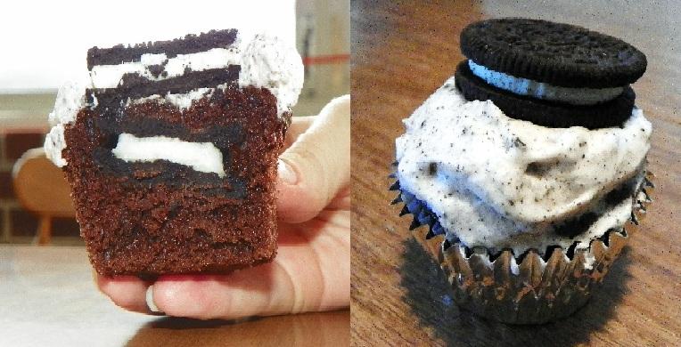 oreo stuffed cupcakes