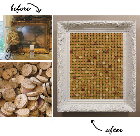 10 wine cork crafts triple awesome crafts from wine corks for Making a cork board from wine corks