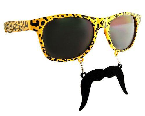 Sun-Staches are the Original Mustache Sunglasses