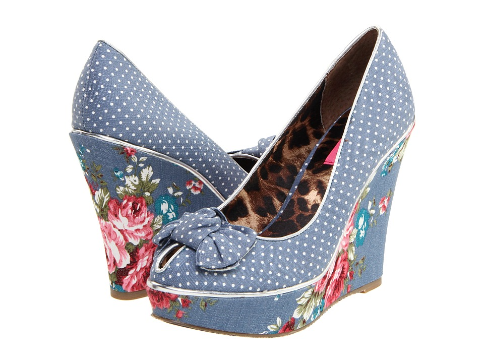 Betsey Johnson floral shoes