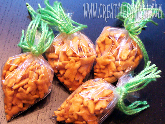 Easter activity - make carrot treats