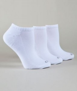 White cushion socks for the hospital