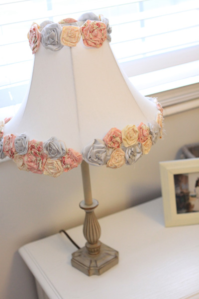 DIY Lamp Shade Makeover For Girls Room