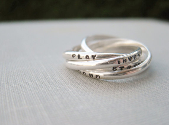 Personalized daughters ring