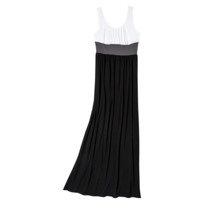 Black maxi dress from target