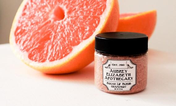 Grapefruit Lip Scrub