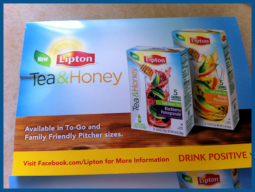Lipton Green Tea & Honey Anyone?