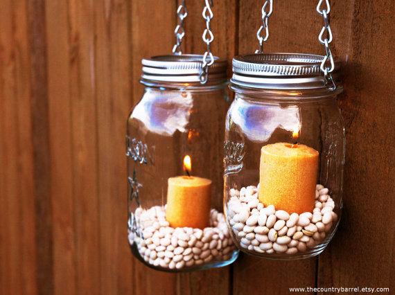 Mason jar hanging lantern giveaway