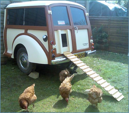 awesome chicken coop
