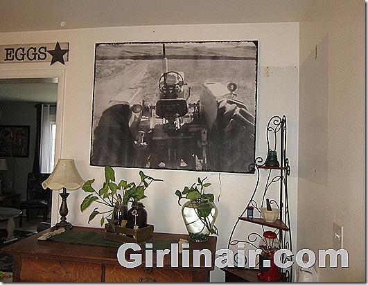 Giant DIY photo canvas