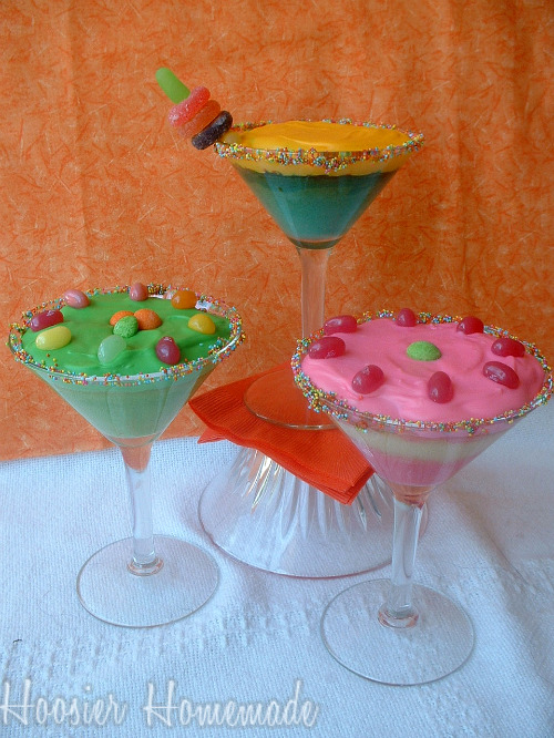 Make cocktail cupcakes from cake mix