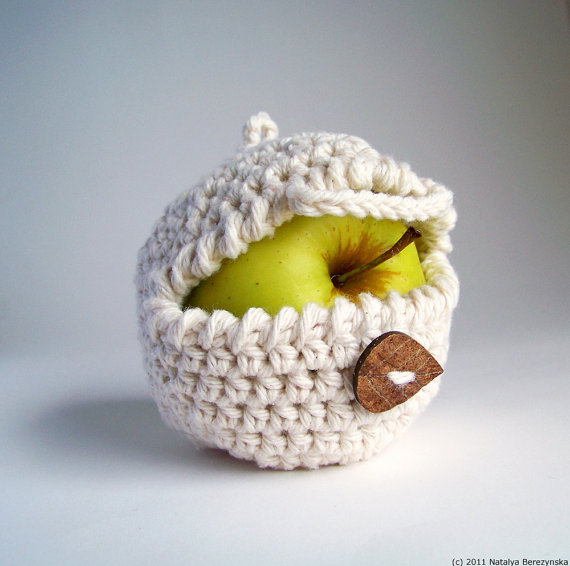 Apple Cozy for lunchbox