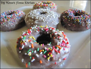 glazed chocolate cake donuts from cake mix