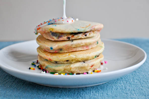 What can I make with cake mix - pancakes