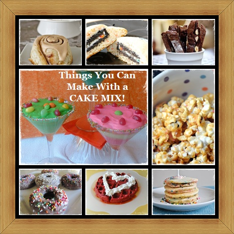 what can i make with cake mix