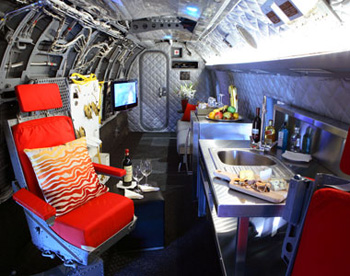 Unusual Places to Stay - Winvian Helicopter