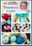 Thumbtack Crafts. Yep…thumbtacks.