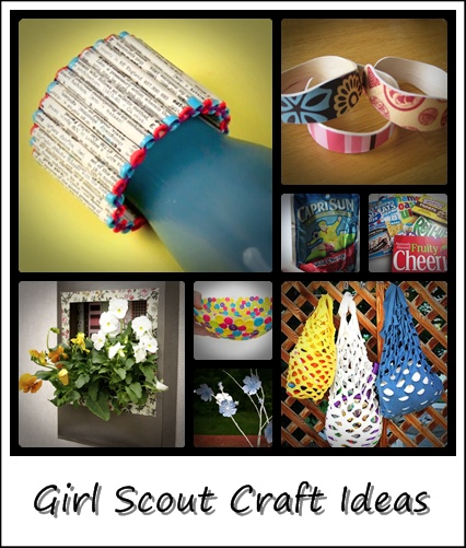Girl Scout Ideas and Crafts