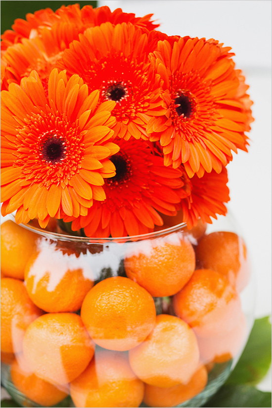 decorating ideas for easter -orange