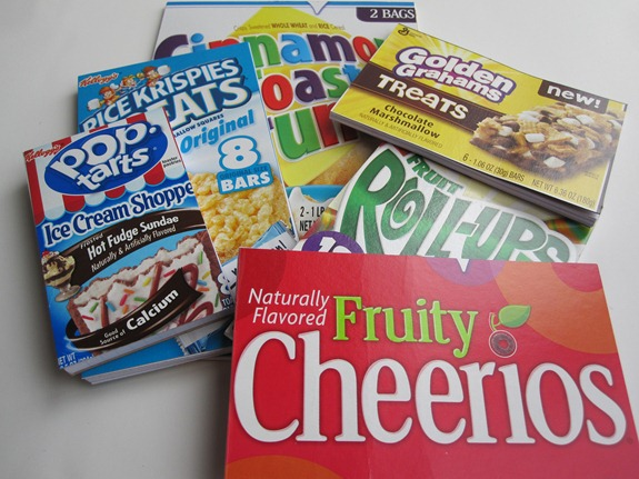 girl scout crafts - cereal box notebooks