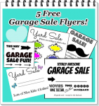 5 Free Printable Garage Sale Flyers