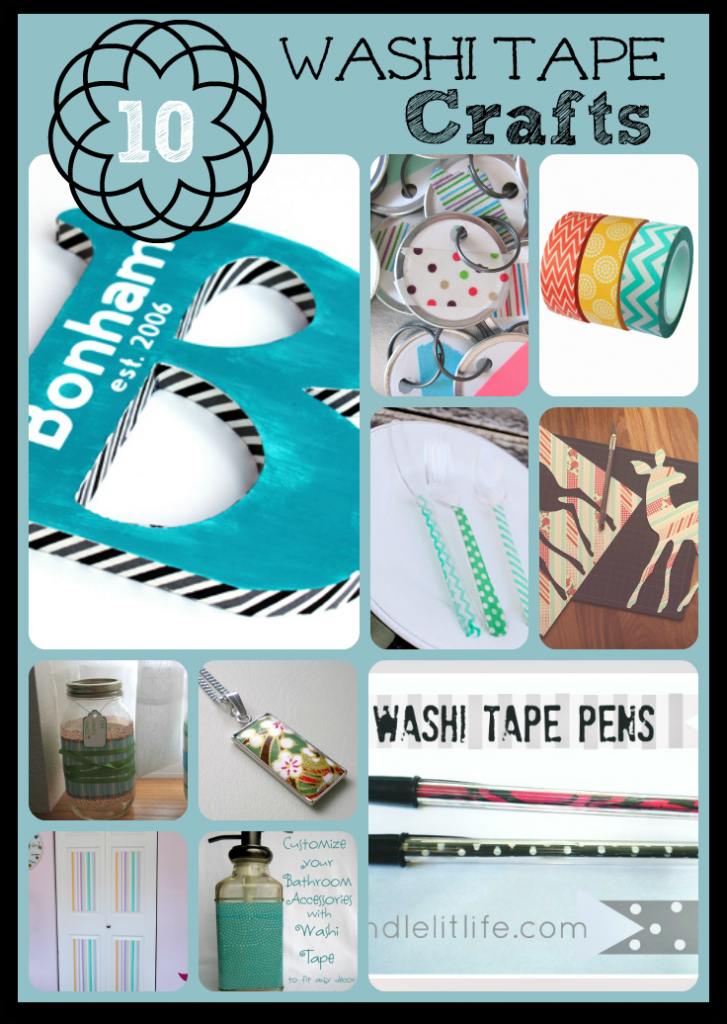 Washi tape crafts 10 easy crafts to make with washi tape for Crafts with washi tape