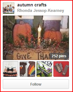 top pinterest boards for autumn crafts