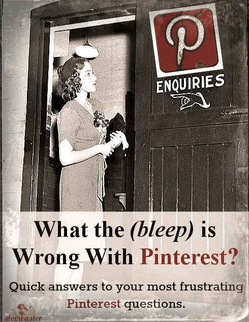 Having some minor Pinterest frustrations? Here are the answers to some of your most wondered about questions. :-)