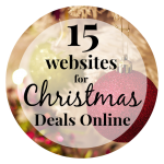 How to Get the Best Christmas Deals Online {15 websites I use every year.}