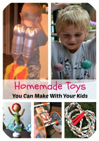 5 Fabulous Homemade Toys You Can Make with Your Kids