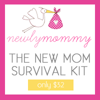 New Mommy Survival Kit by Newly Mommy