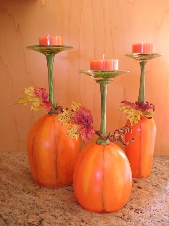 Wine glass centerpiece ideas 5 fun wine glass for Wine centerpiece ideas