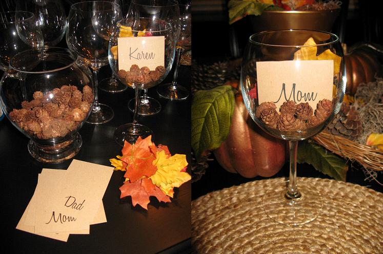 Lots of wine glass centerpiece ideas featured on Momcaster!