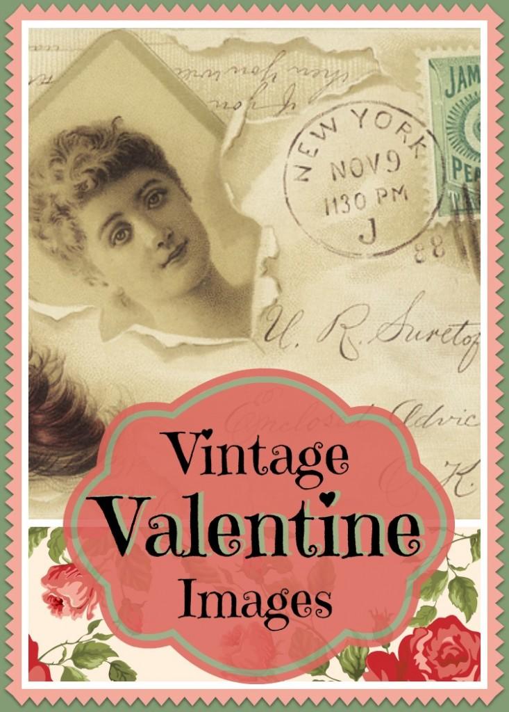 Free vintage Valentine images at www.Momcaster.com