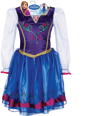 Win this Disney Frozen Princess Anna Dress!