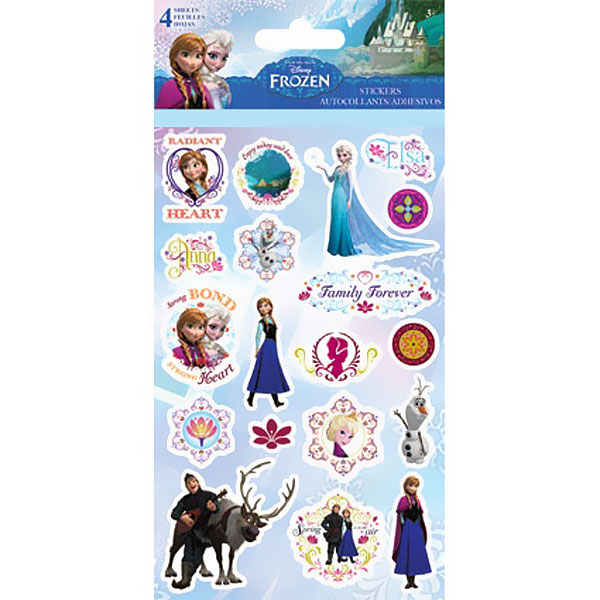 Win these Disney Frozen Glitter Stickers!