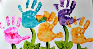 Handprint Flower Images