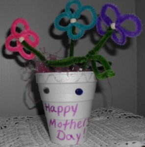 Pipe Cleaner Flowers Bouquet