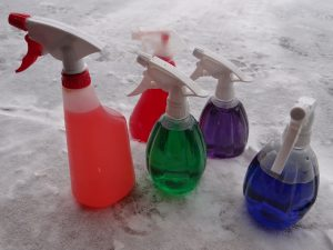 Snow Spray Paint