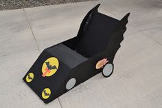 Cardboard Box Batman Car