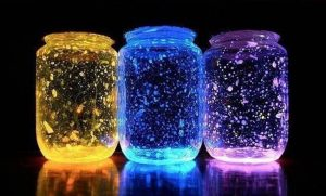 Homemade Glow Stick Lanterns