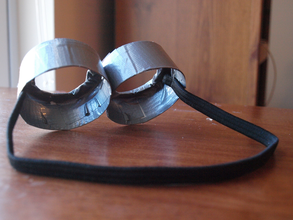 How To Make Minion Goggles
