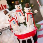 Marshmallow Snowman: A Yummy Holiday Craft