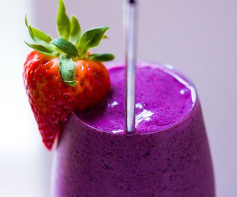 strawberry and blueberry smoothie recipe